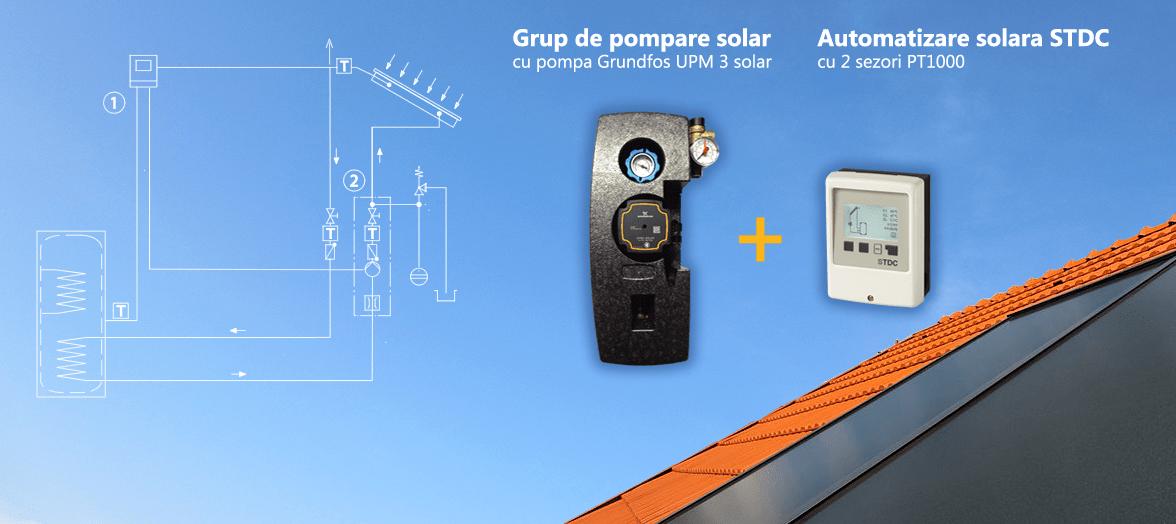 Accesorii panouri solare