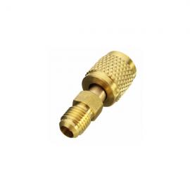 Adaptor cu ventil furtun 5/16 FE la 1/4 FI