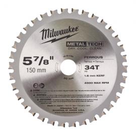 Panza de fierastrau circular pentru metal 150 mm