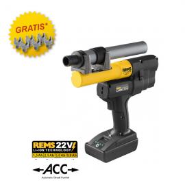 Rems Ax Press 25 22V ACC, promo
