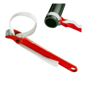 Cheie cu banda pentru tevi din plastic 220mm