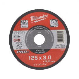 disc abraziv Milwaukee SC41, 125 mm