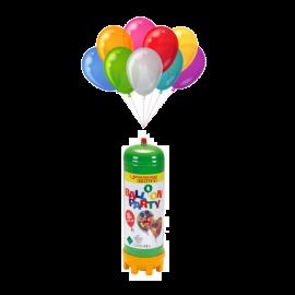 Set petrecere butelie cu heliu si baloane, Rothenberger Industrial