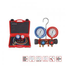 Manifold analog cu 4 cai, R22, R134A, R407, R404A