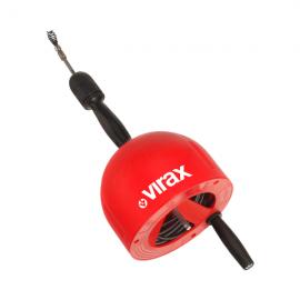 Spirala de desfundat Virax, cu cablu 7,5 m